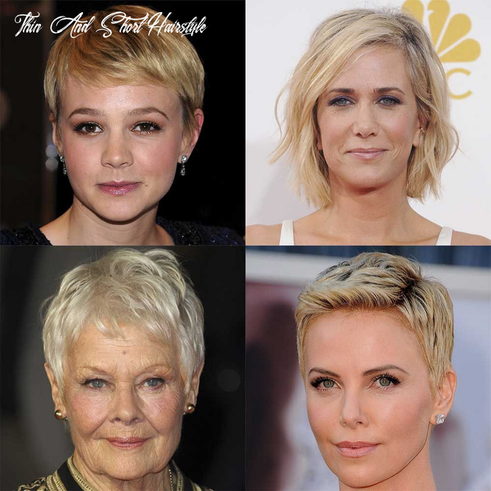 Short hairstyles for fine or thin hair thin and short hairstyle
