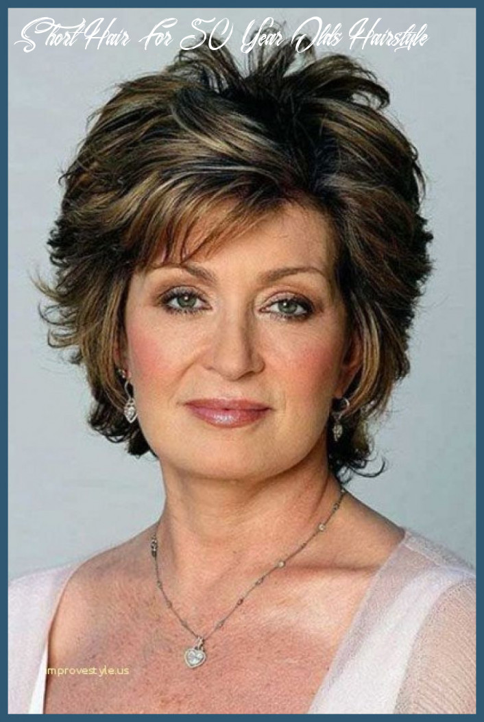Short hairstyles for older women with glasses 9 top short