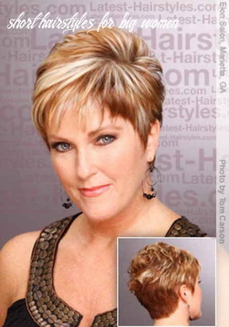 Short hairstyles for overweight women over 12   short hair