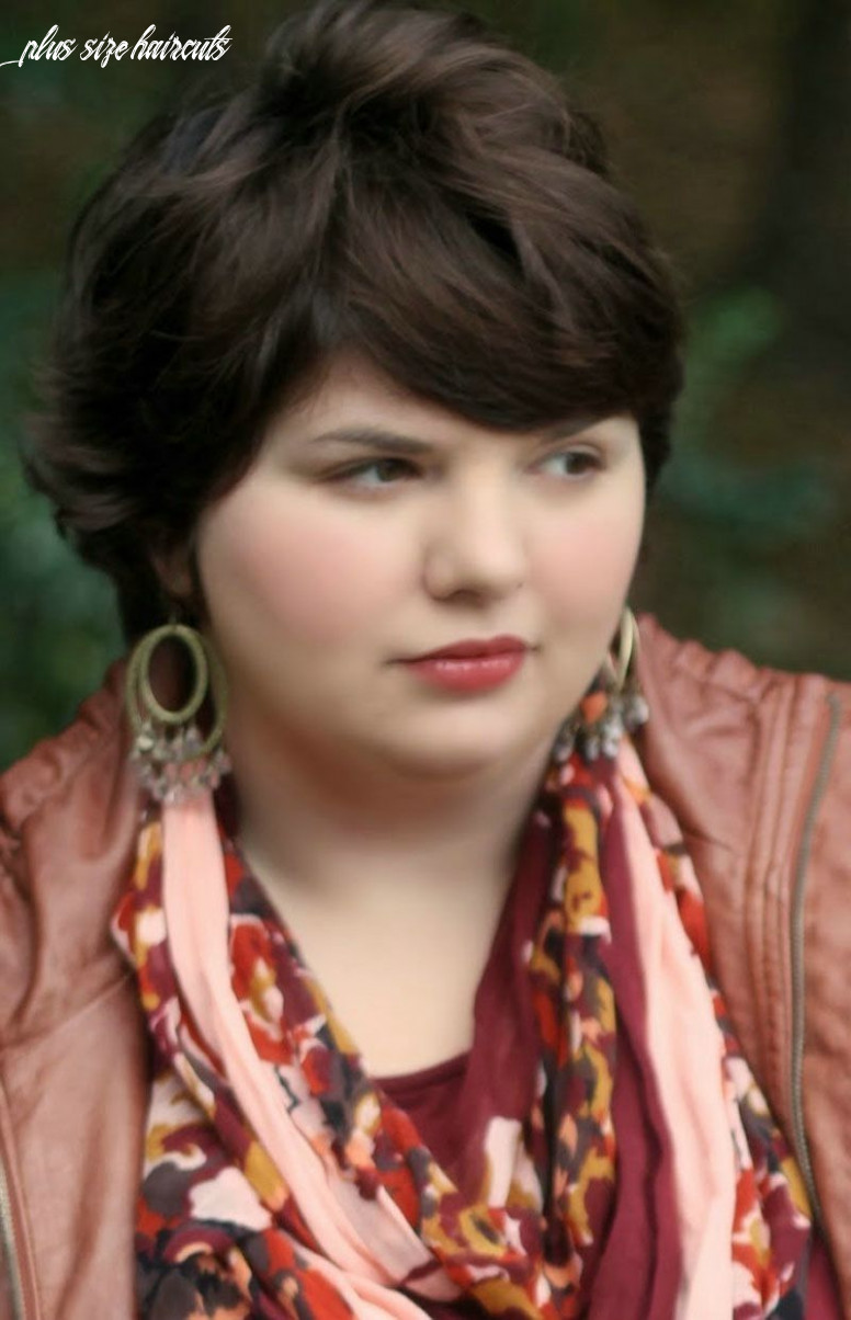 Short hairstyles for plus size | plus size hairstyles, latest
