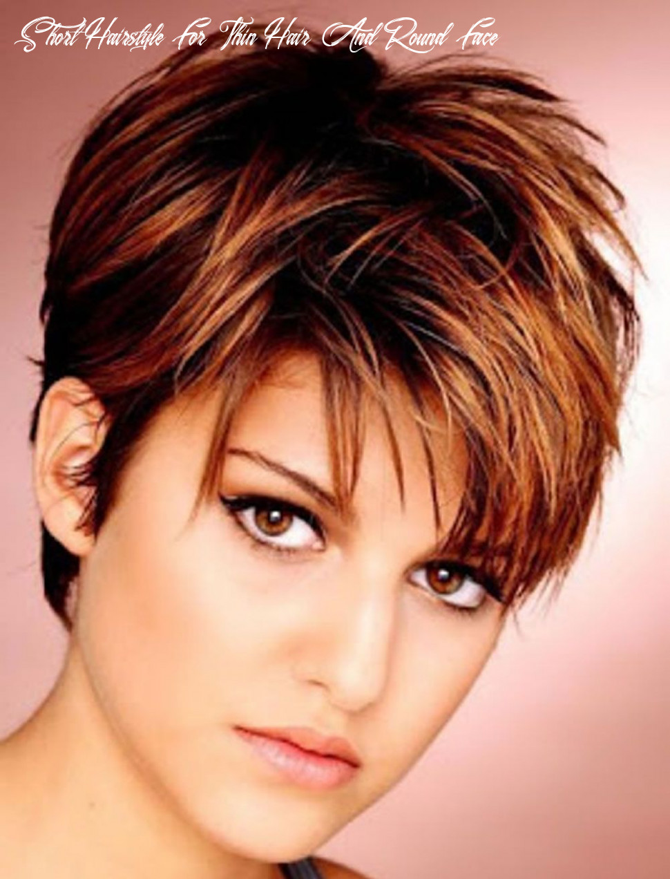 Short hairstyles for round face thin hair ideas for 12 | cheveux