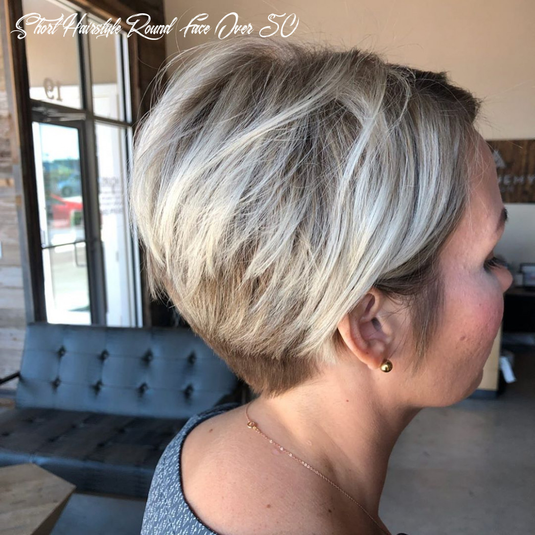 Short hairstyles for round faces over 8 – davaocityguy