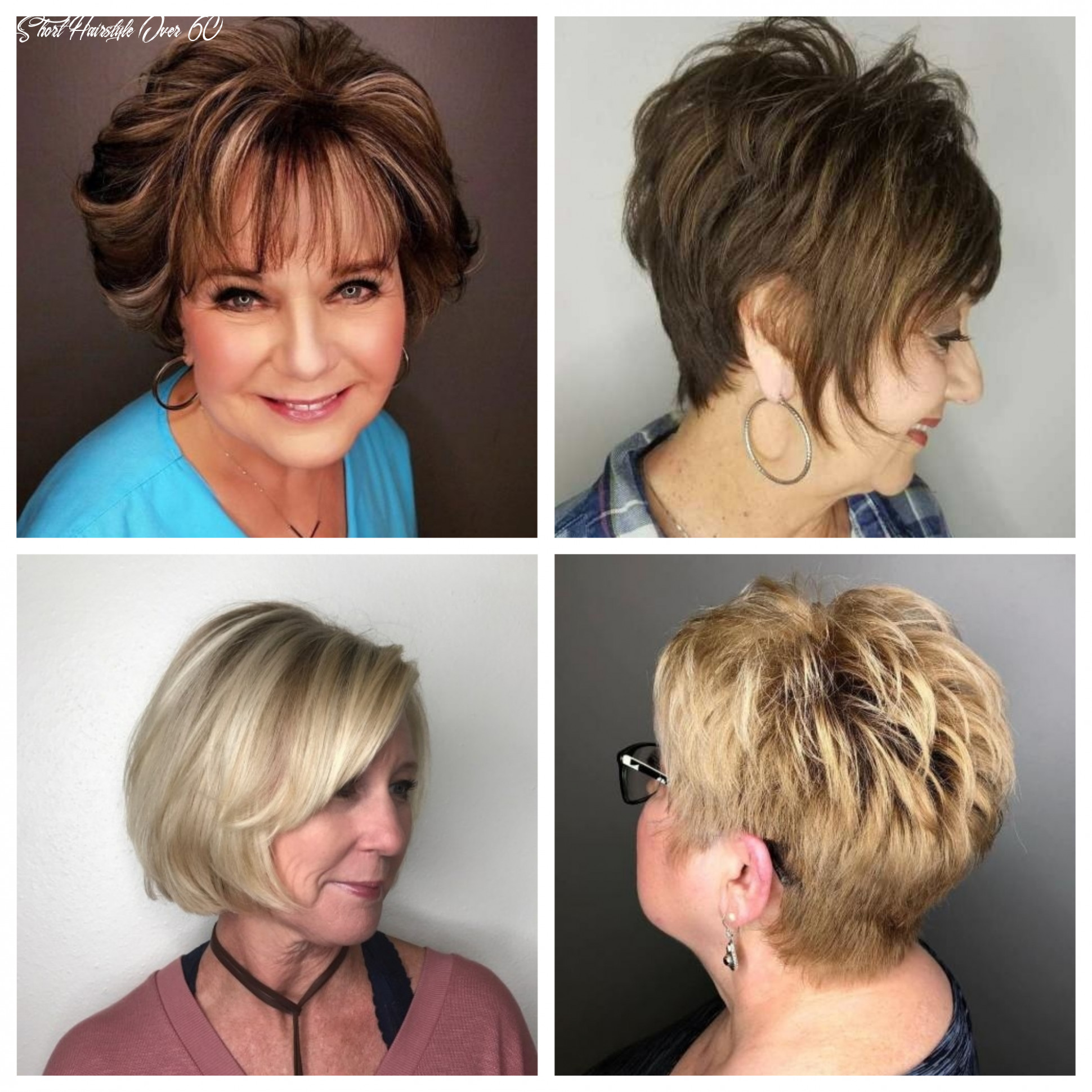 Short hairstyles for women over 12 | 12 haircuts, hairstyles and