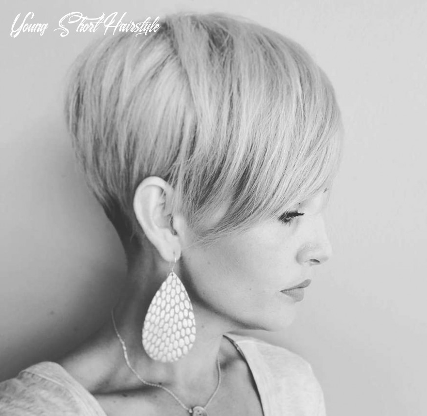 Short hairstyles haley young 10 | fashion and women young short hairstyle