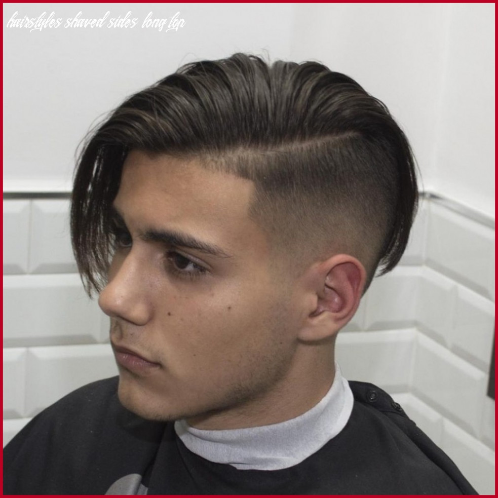 Short hairstyles shaved sides and back 12 hairstyles shaved