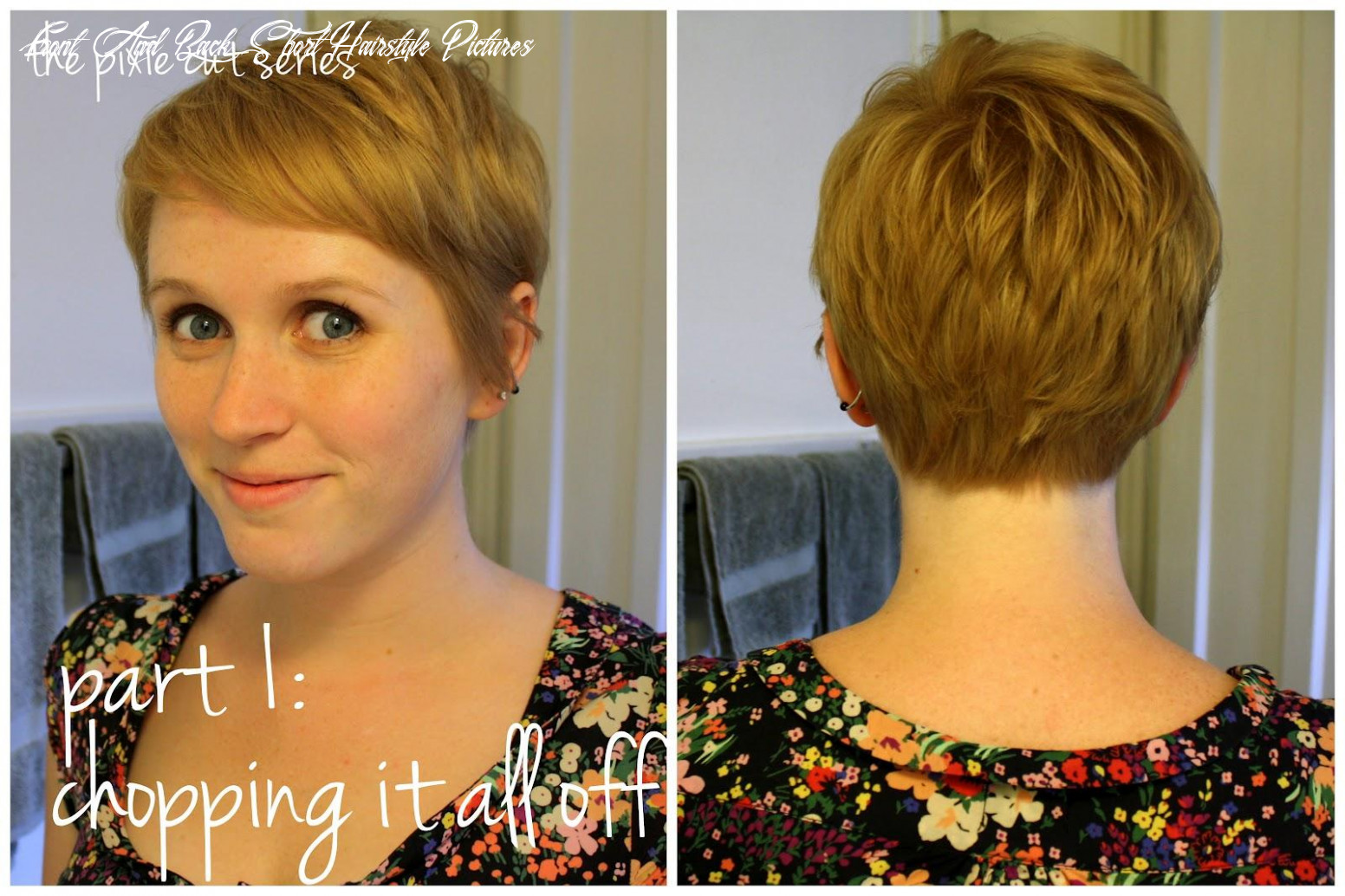 Short hairstyles view back front pixie cut series part | sophie