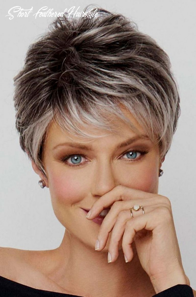 Short layered haircuts on pinterest short feathered hairstyle best