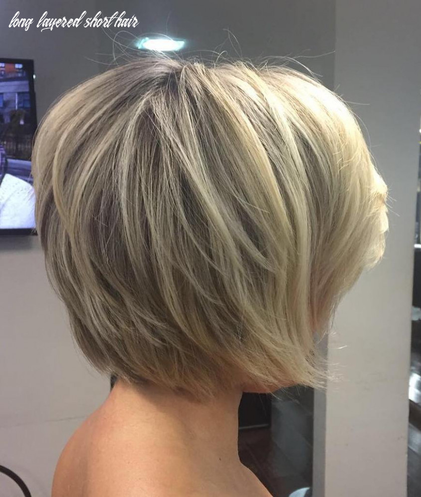 Short Layered Hairstyles Blonde