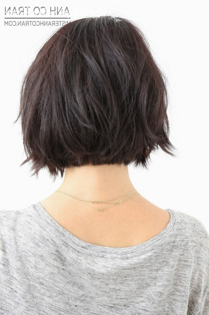 Short length hairstyles back view | short hair back, short hair