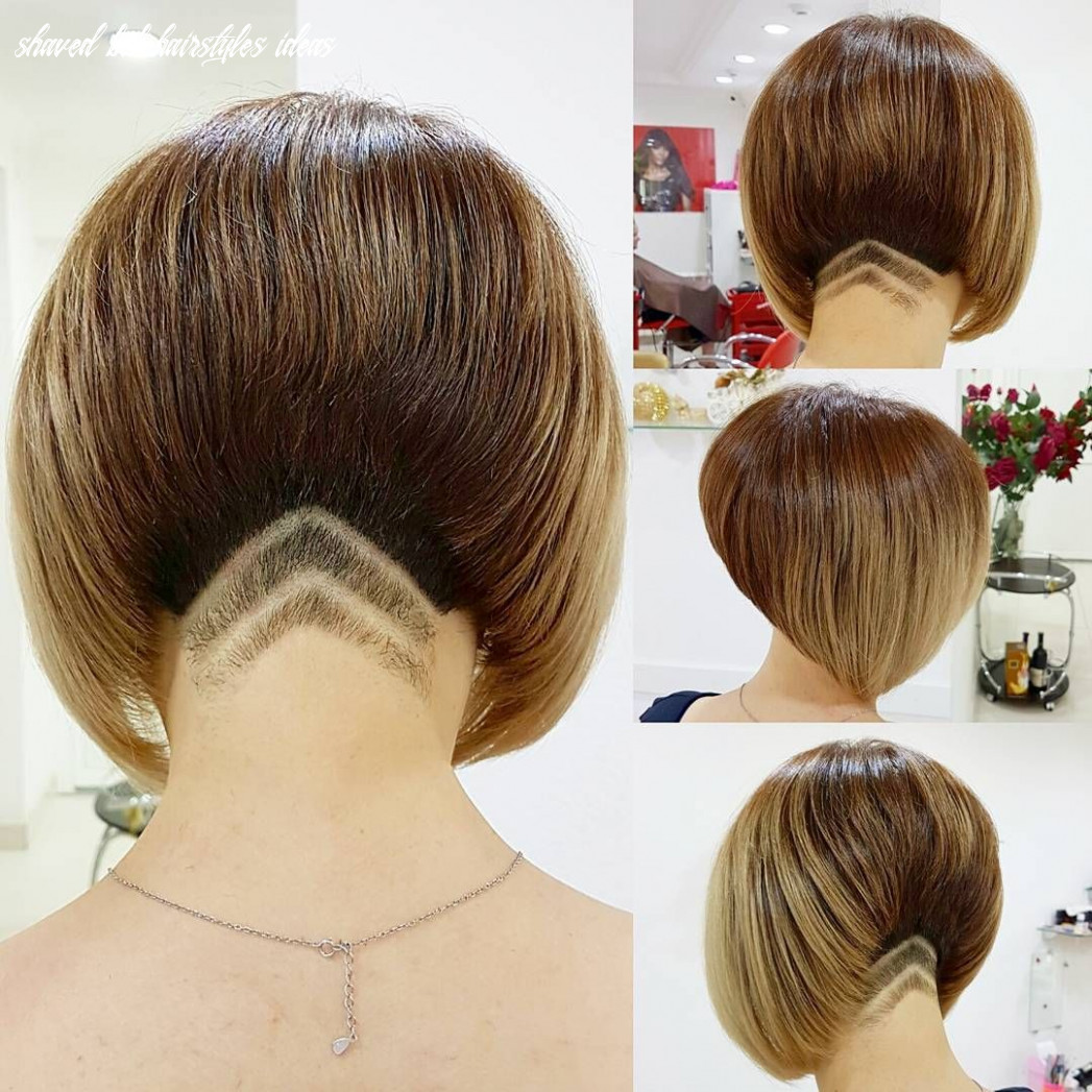 Short nape | hair stylies, undercut hairstyles, girls short haircuts shaved bob hairstyles ideas
