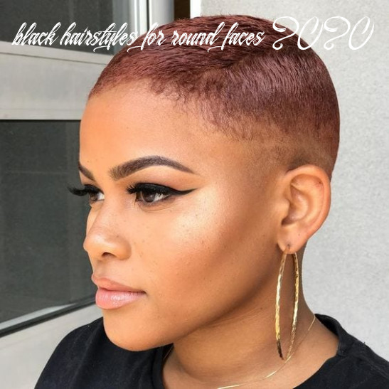 Short Natural Haircuts for Black Females With Round Faces - 12+