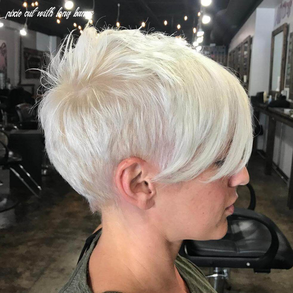 Short pixie cuts with long bangs 12 pixie cut with long bangs
