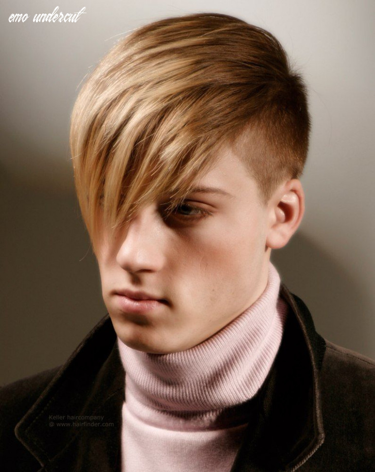 Short sided long fringe | emo hairstyles for guys, emo hair, half