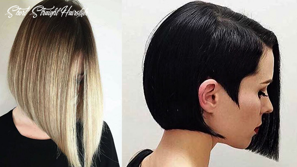Short straight hairstyles | styles for straight hair ♛ straight hair bob hairstyles ♛ short straight hairstyle