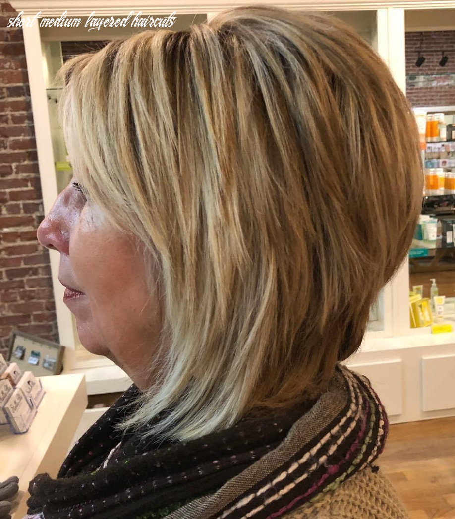 Short To Medium Layered Hairstyles For Over 8