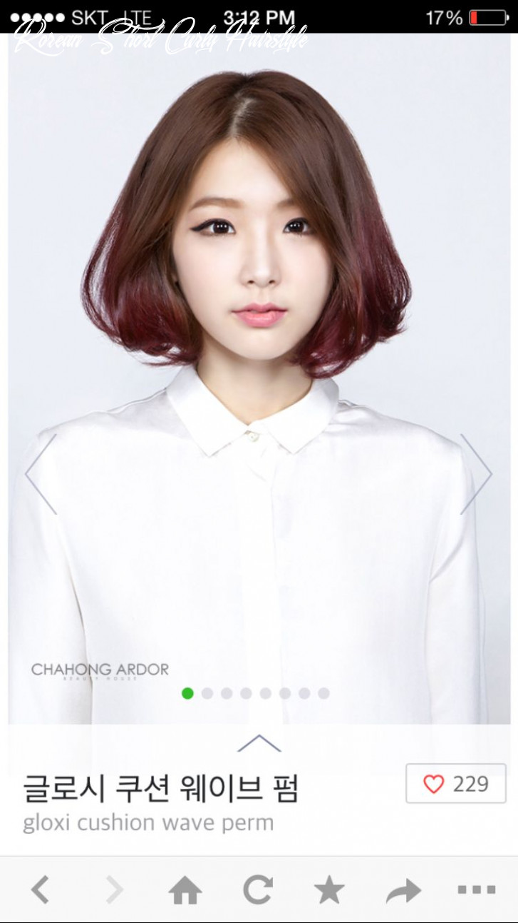 Short wavy hair korean style more (with images)   hair color asian