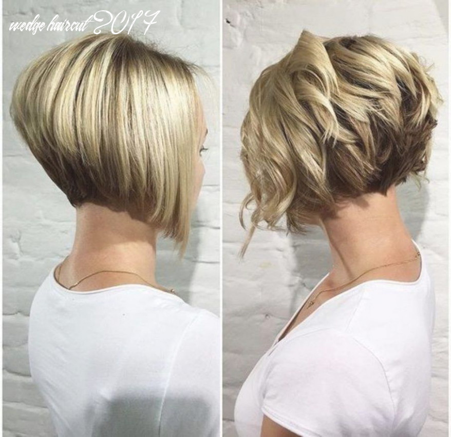 Short wedge haircuts hairstyle for women & man | wedge haircut