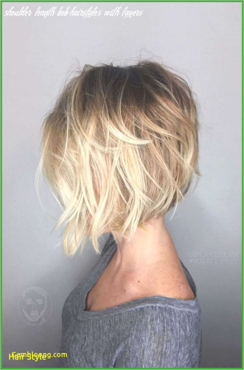 Shoulder Length Bob Hairstyles with Layers New Medium Length Bob ...