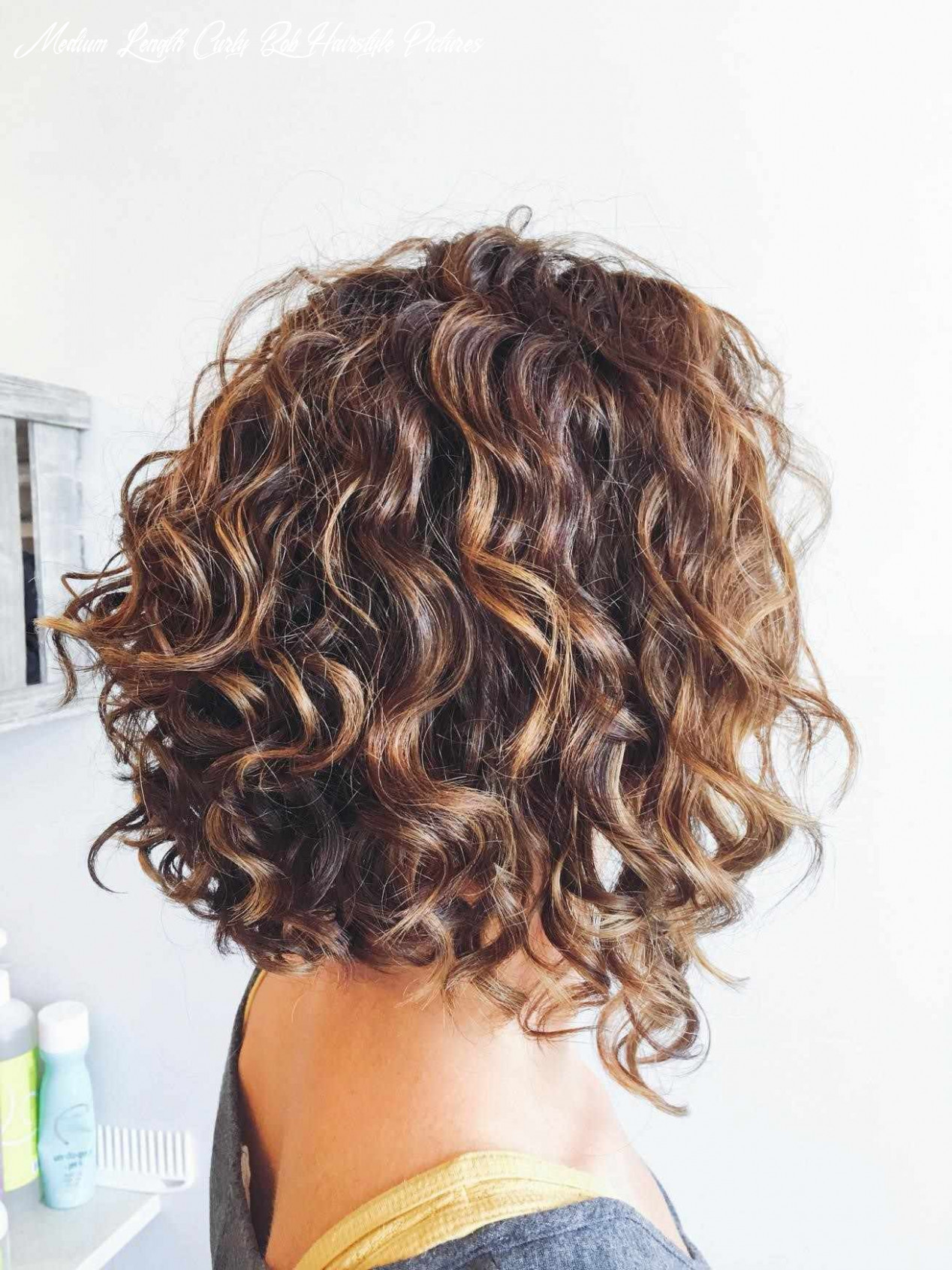 Shoulder length curly inverted bob google search | short permed