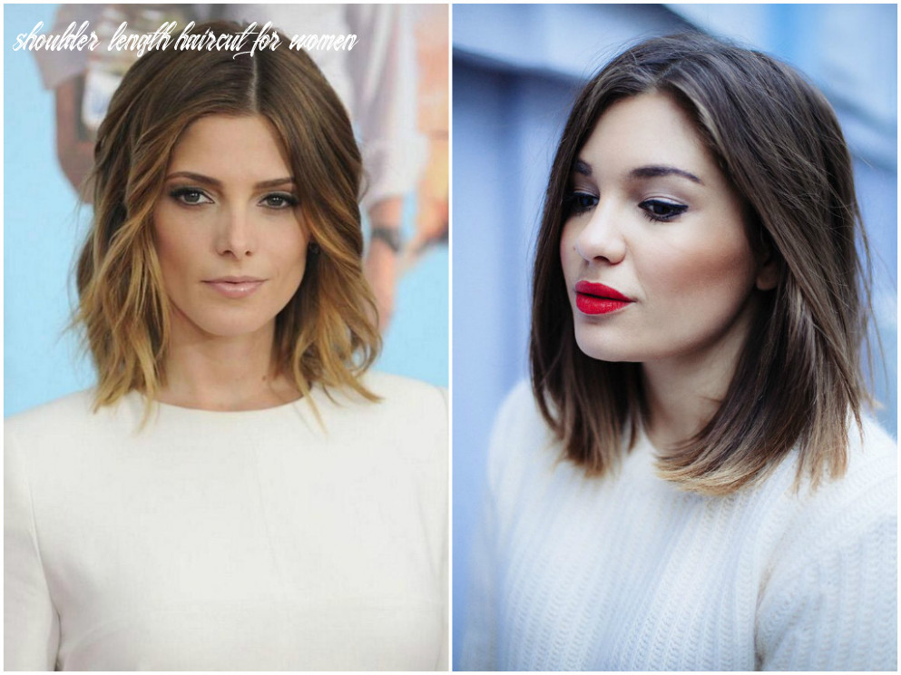 Shoulder length haircuts for women 10  for fine, curly and wavy