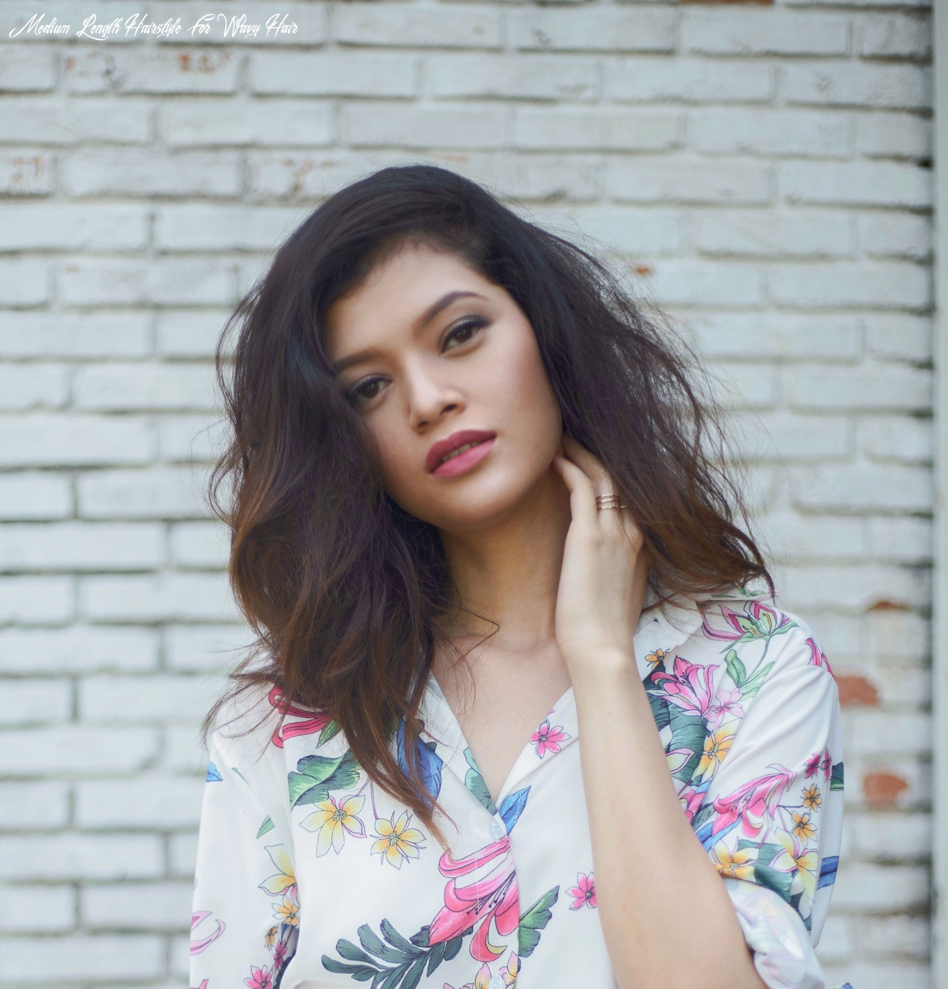 Shoulder length hairstyles for filipinas | all things hair ph medium length hairstyle for wavy hair