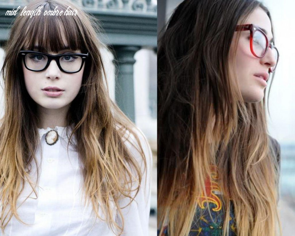 Shoulder length ombre hair   find your perfect hair style mid length ombre hair