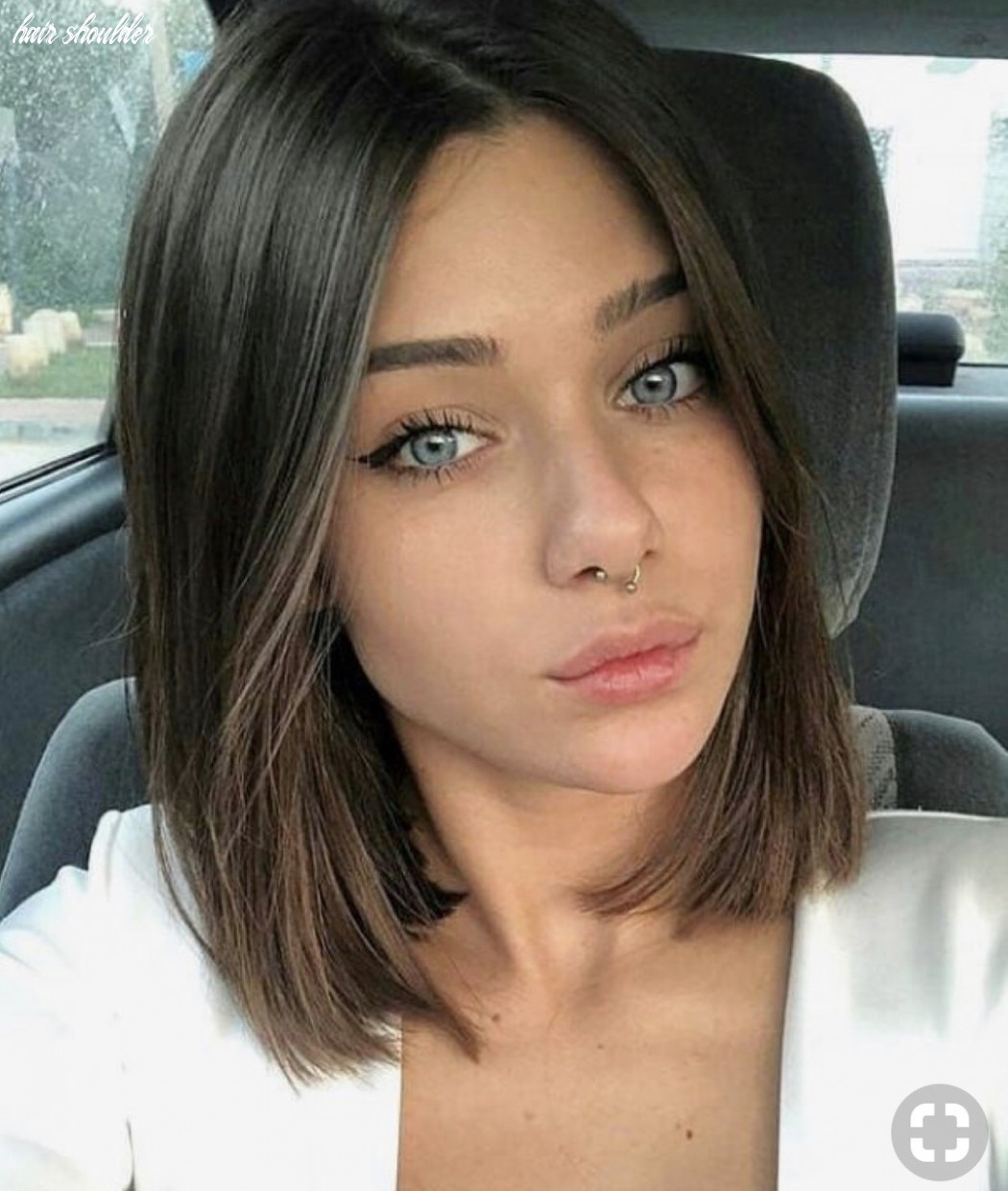 Shoulder length, short hair, haircut and short image #10 on