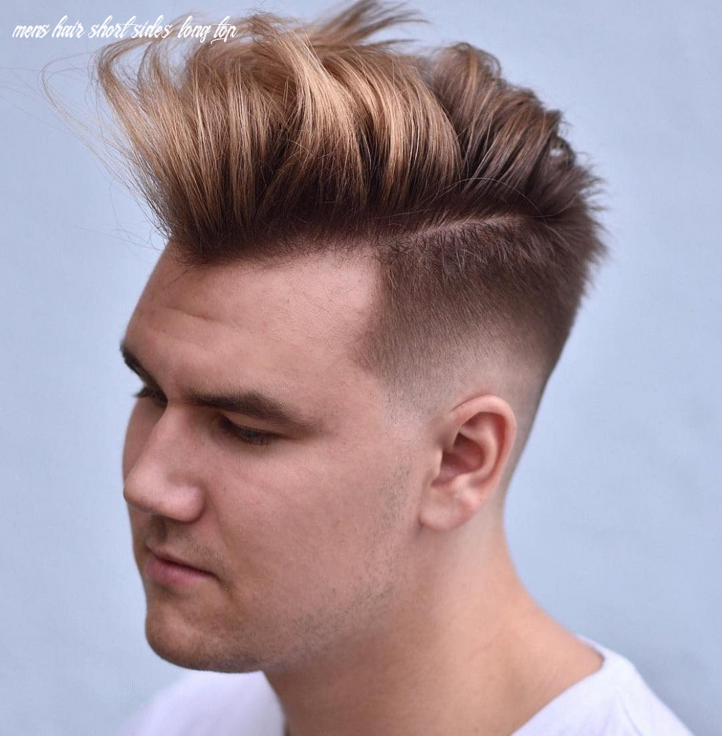Side best men haircuts haircut today mens hair short sides long top