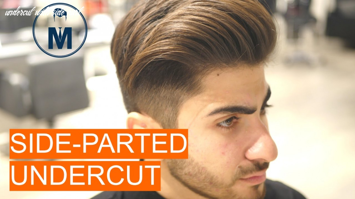 Side parted undercut part 12 (the style) undercut with side part