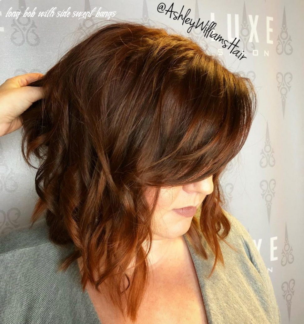 Side swept bangs: 9 ideas that are hot in 9 long bob with side swept bangs