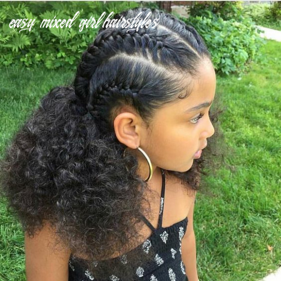 Simple Curly Mixed Race Hairstyles for Biracial Girls | Mixed.Up.Mama