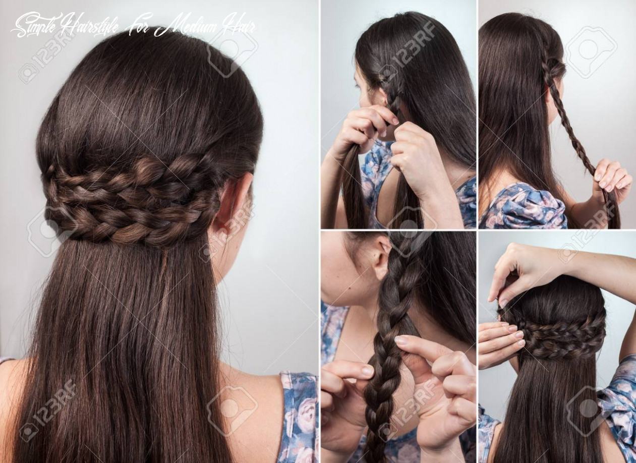 Simple hairstyle for long and medium loose hair tutorial simple hairstyle for medium hair