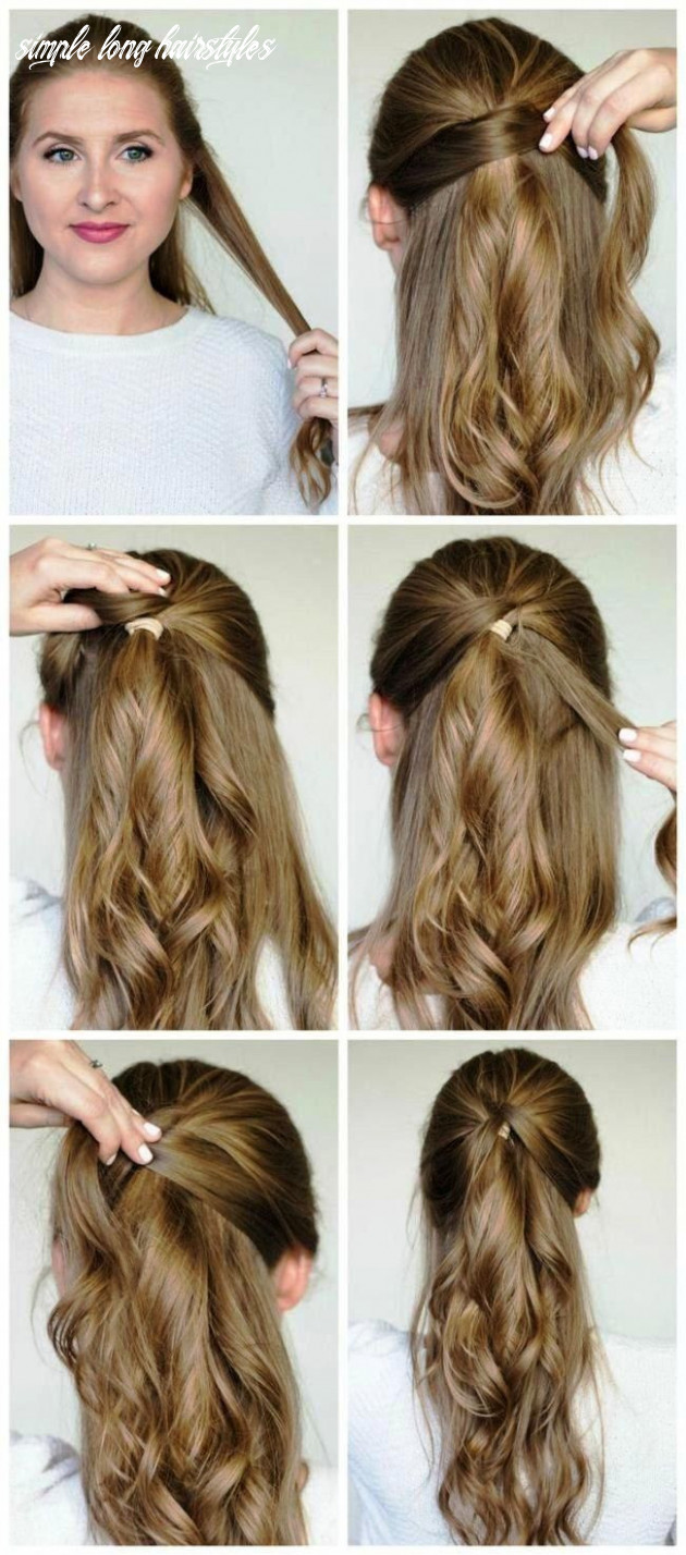 Simple hairstyles for long hair new the best simple hairstyles