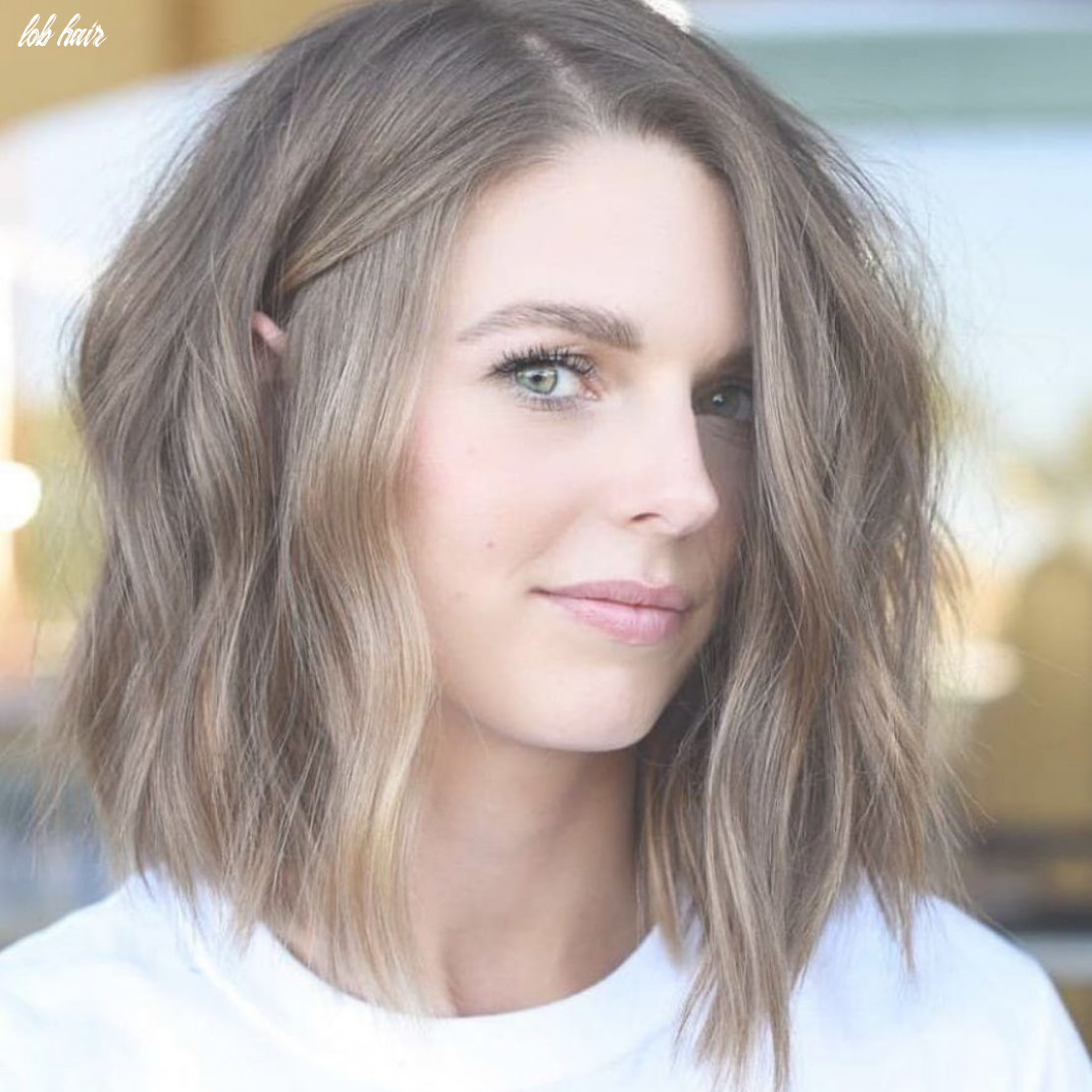 Simple Lob Hair Styles for Women, Shoulder Length Haircut with ...