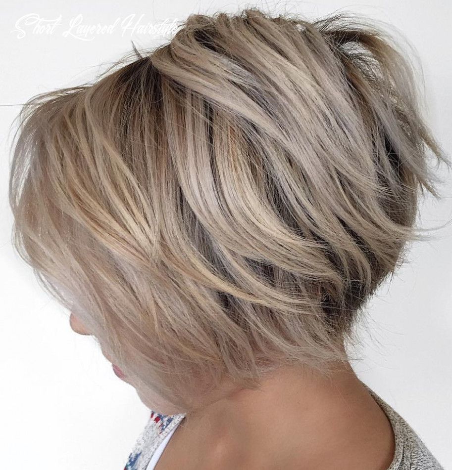 Simple short layered hairstyles you should attempt – fashionarrow