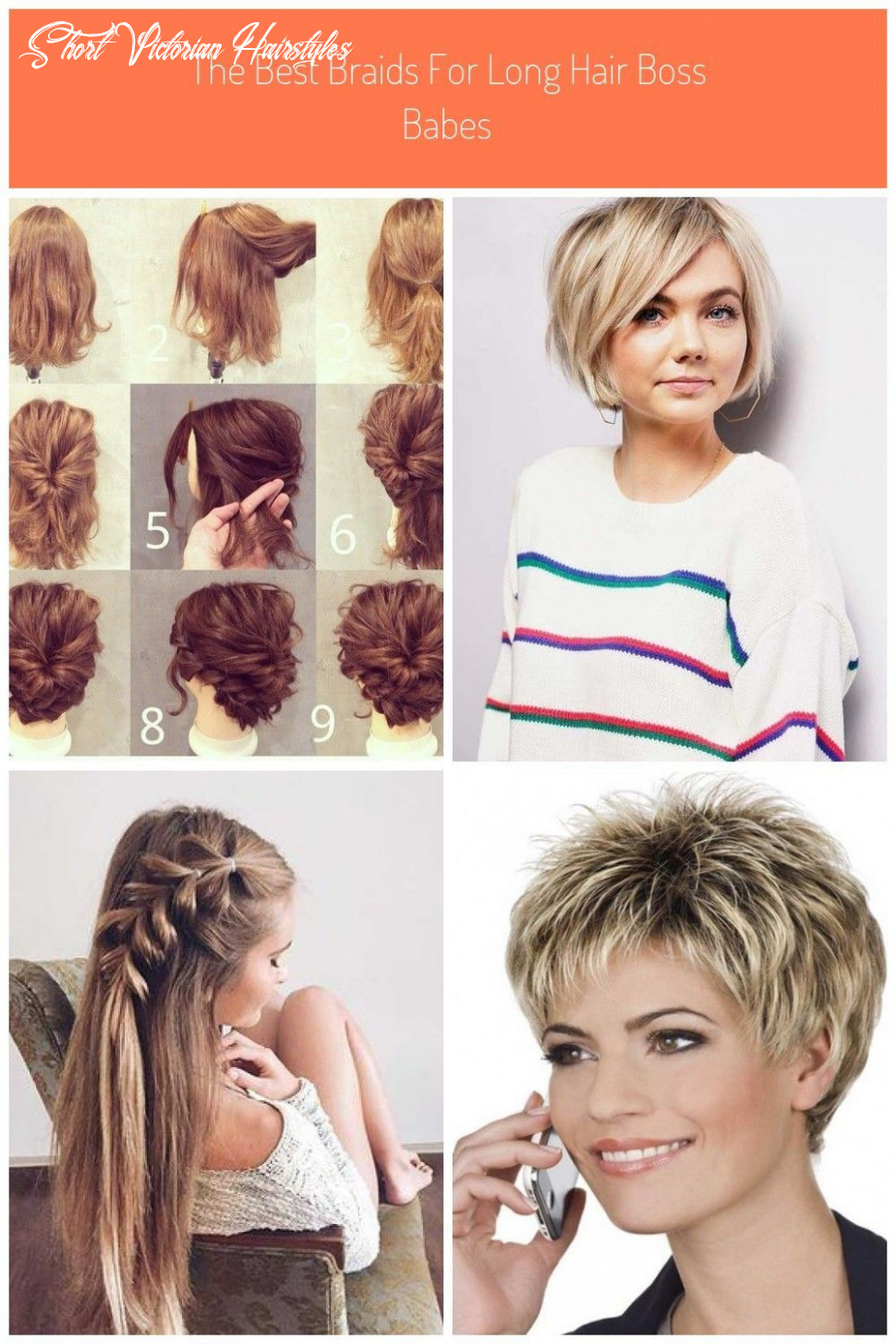 Simple victorian hairstyles for short hair #simple #hairstyles