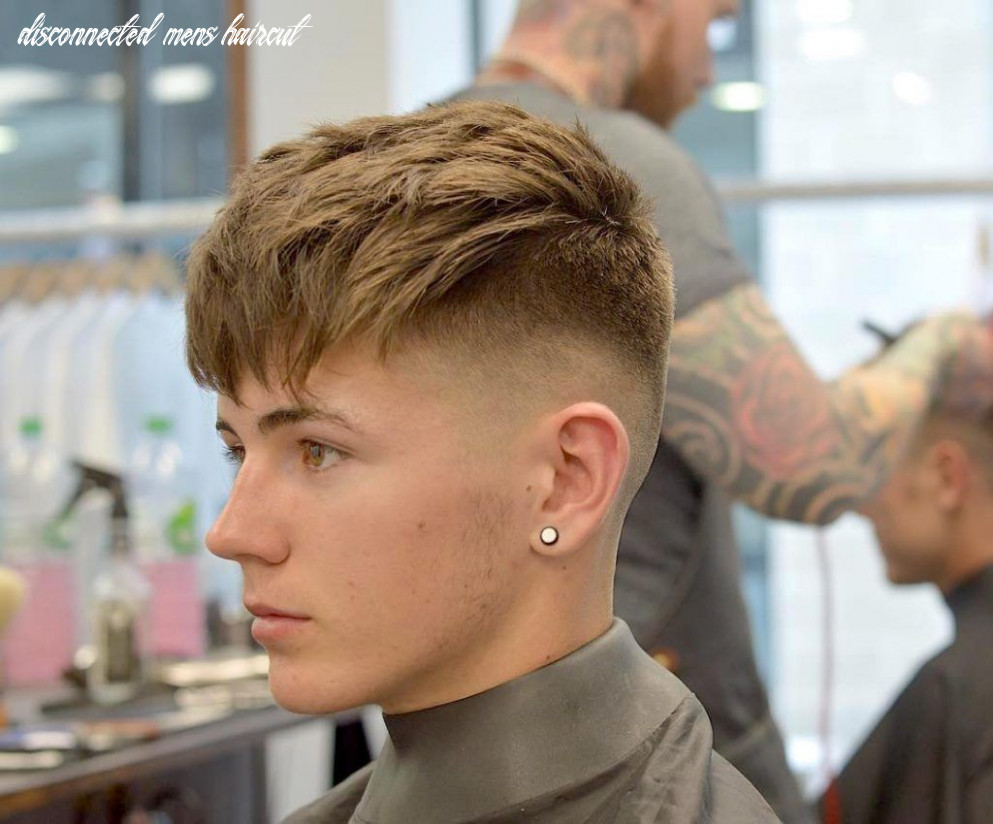 Skin fade disconnected top   cheveux masculins, coupe de cheveux