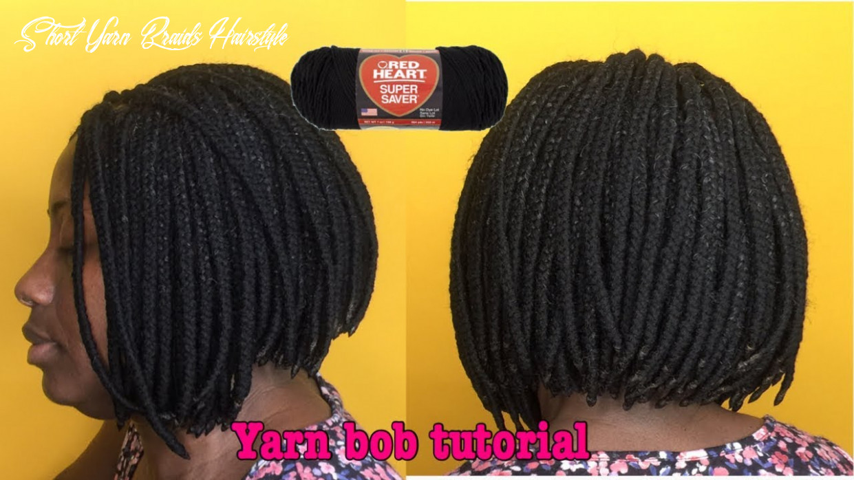 Slayed my mom's hair | yarn braids| short bob | ghanagyalify short yarn braids hairstyle
