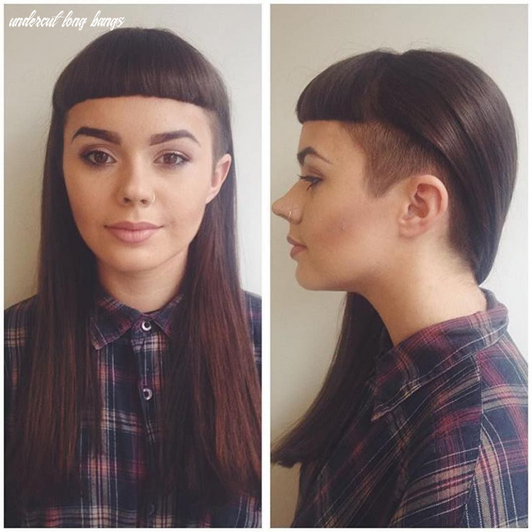 Some gorgeous hair by @amyrmars #glossy length #shortfringe and a ...
