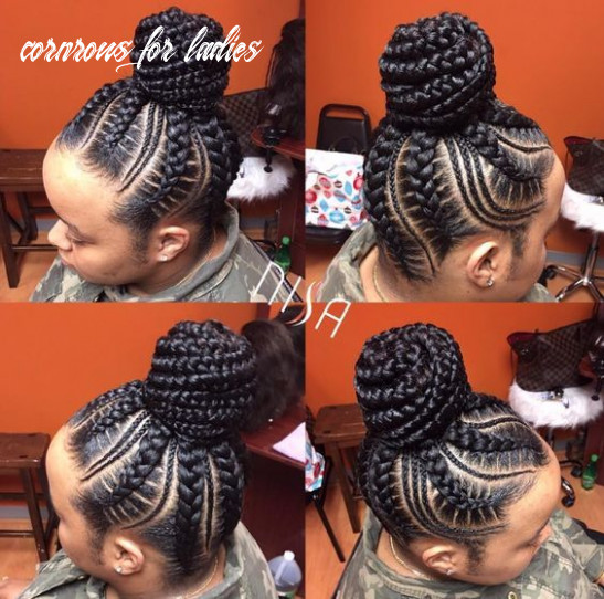 Spectacular nigerian cornrow hairstyles every lady must try