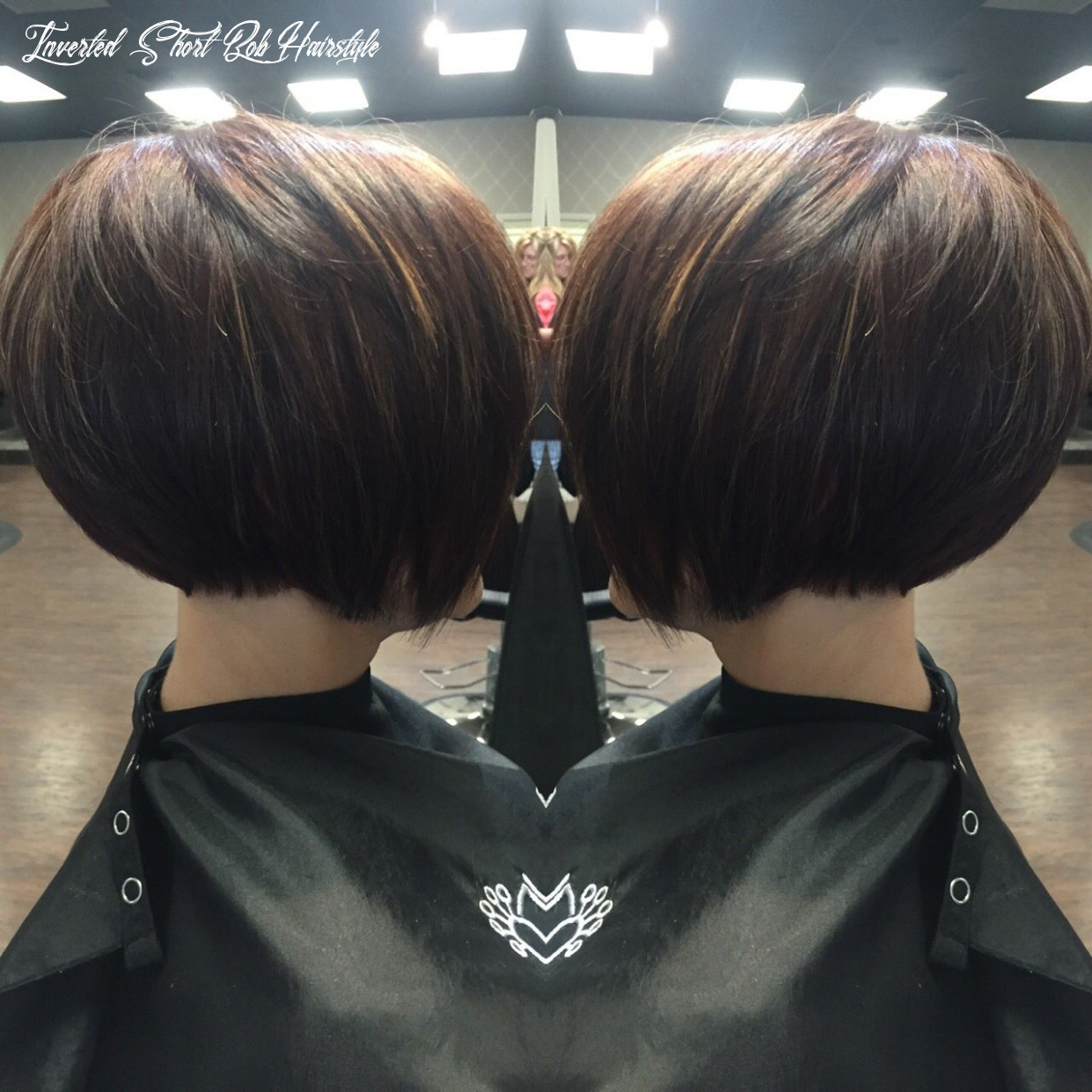 Stacked inverted bob   short hair back, bob hairstyles for fine