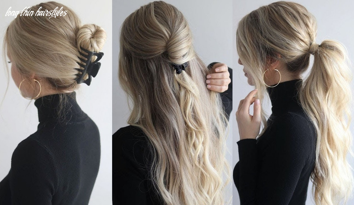 Stay in trend with unique hairstyles for long hair   wes global long thin hairstyles
