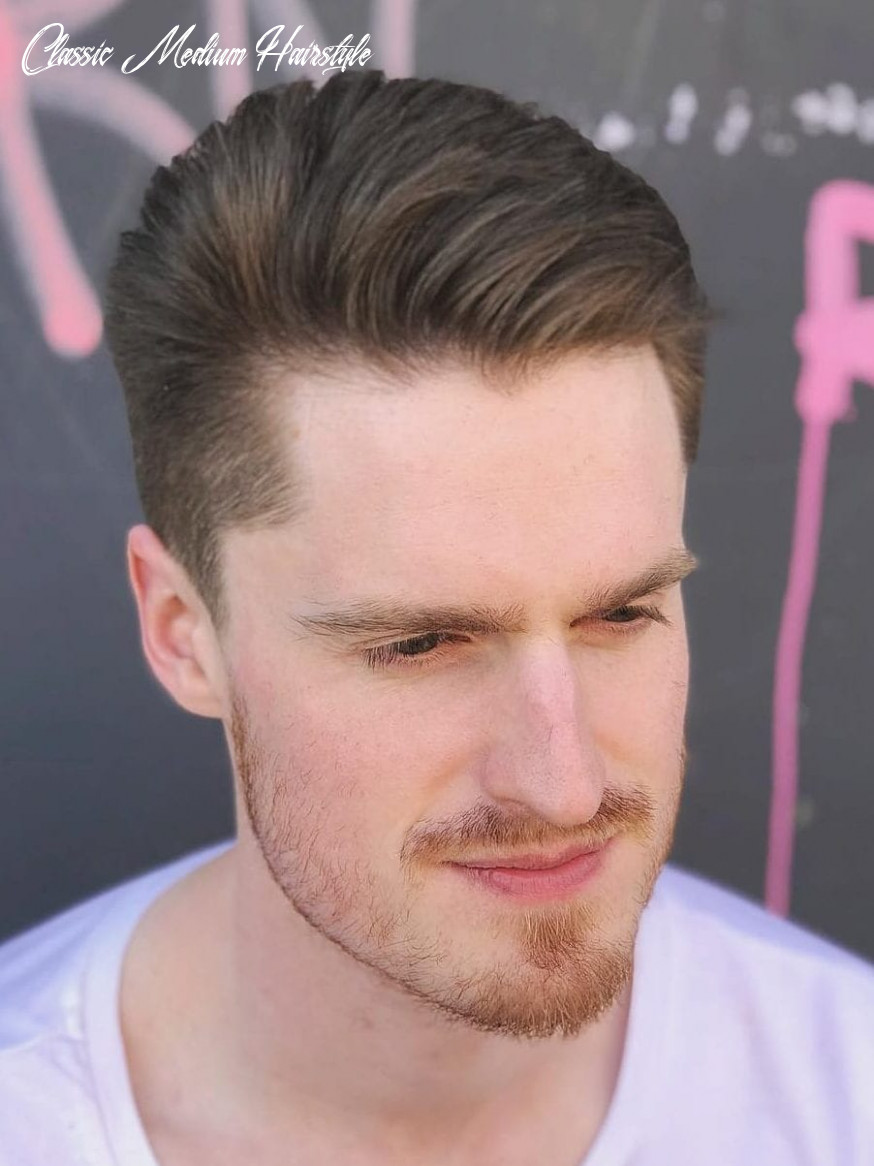 Stay timeless with these 11 classic taper haircuts classic medium hairstyle