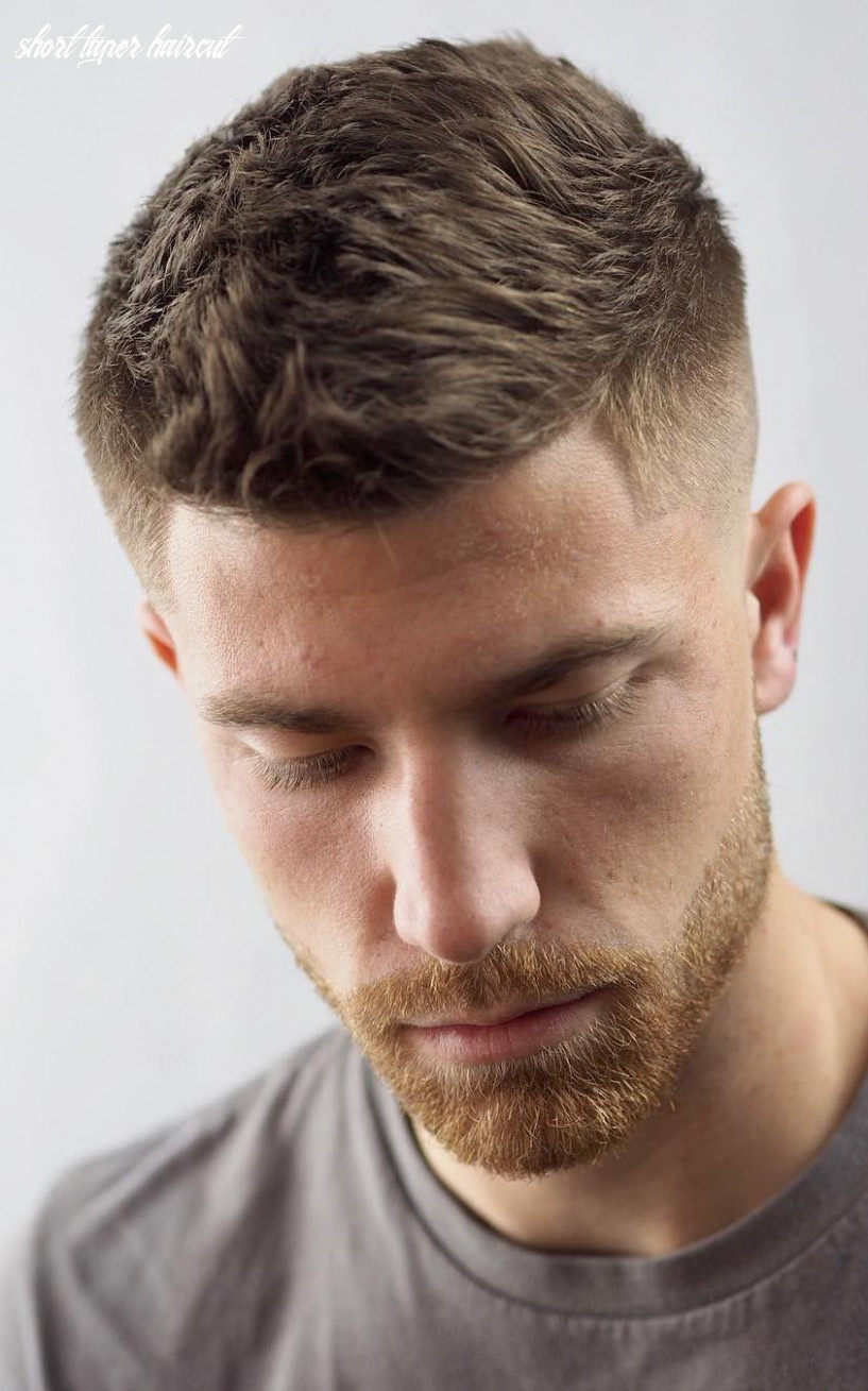 Stay timeless with these 11 classic taper haircuts short taper haircut