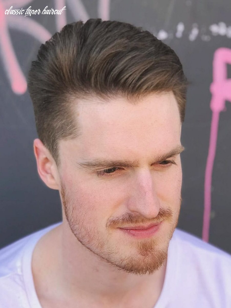 Stay timeless with these 9 classic taper haircuts classic taper haircut
