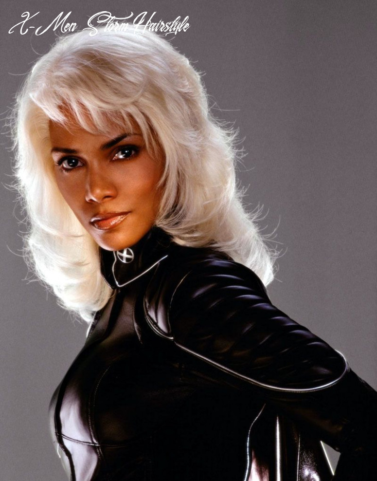 Storm w/ long hair   celebrities female, halle berry, long hair styles x men storm hairstyle
