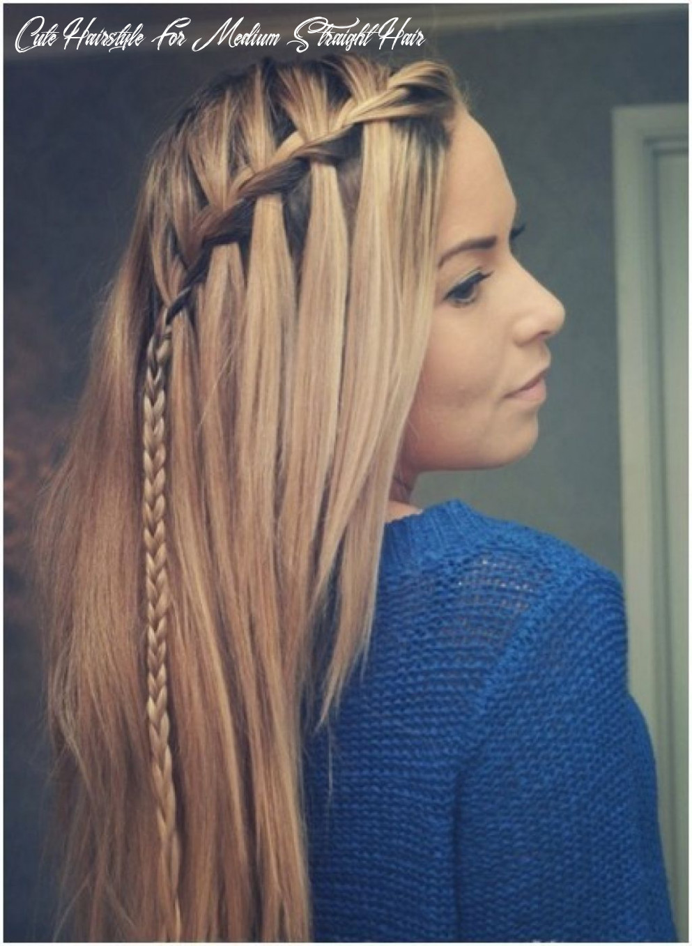 Straight hair, simple hairstyles and long hairstyles on pinterest
