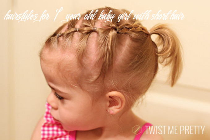 Styles for the wispy haired toddler twist me pretty hairstyles for 1 year old baby girl with short hair