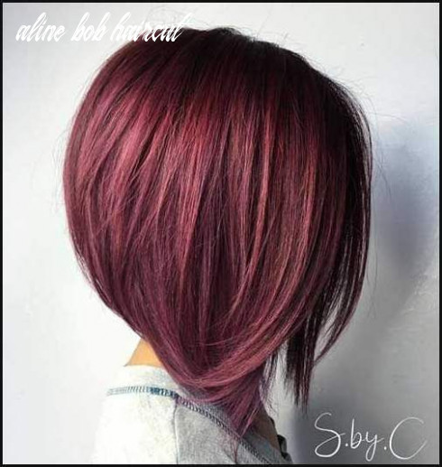 Stylish A-Line Bob Haircut Ideas | Aline bob haircuts, Aline bob ...