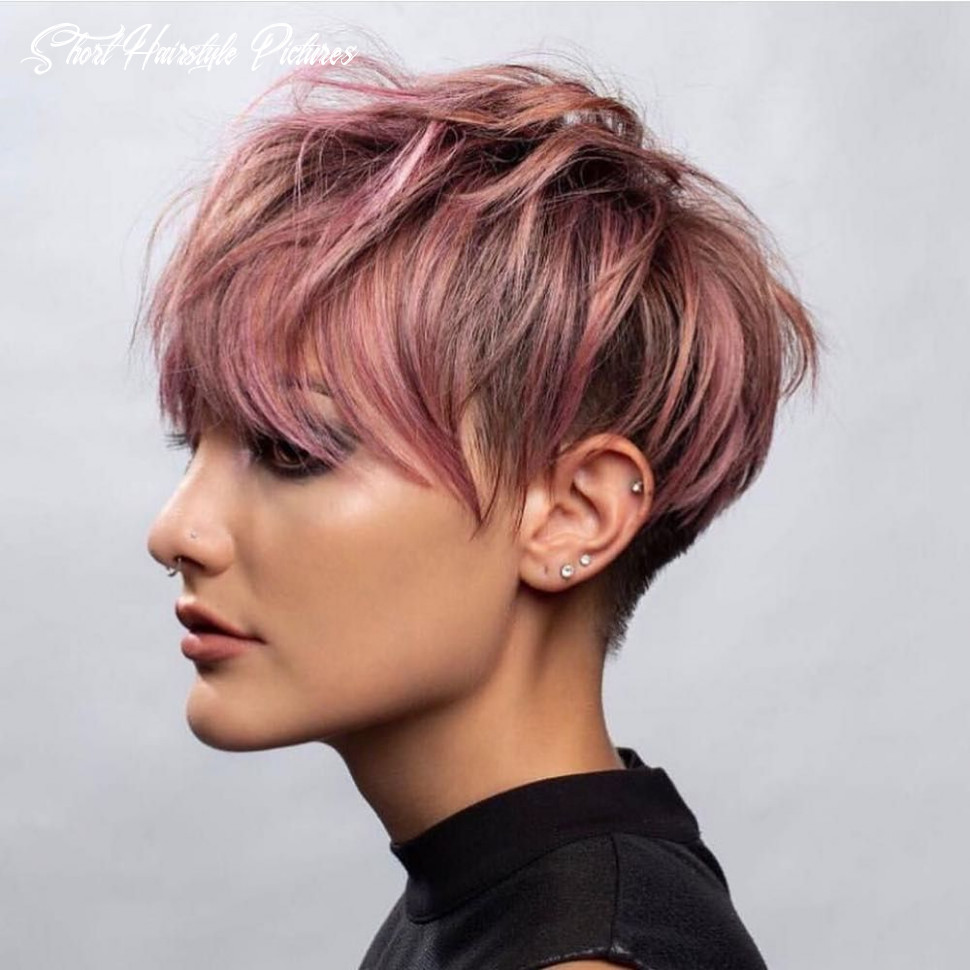 Stylish short hairstyles for thick hair, women short haircut ideas